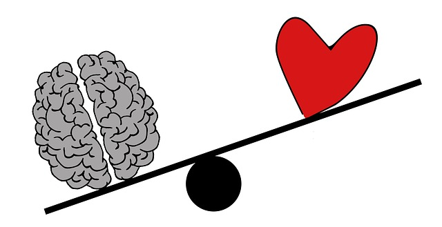 Herz über Kopf
